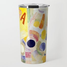 Robert Delaunay The Cardiff Team Travel Mug