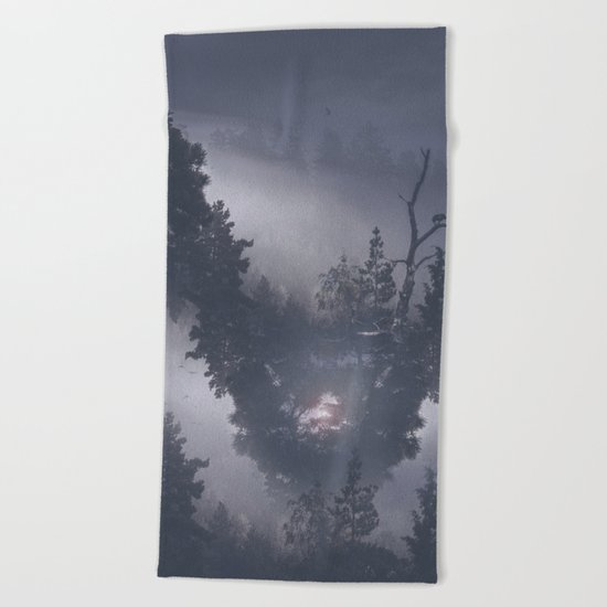 Forest dreams II Beach Towel