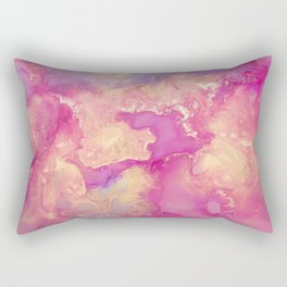 Alcohol Ink - Nebula 2 Rectangular Pillow