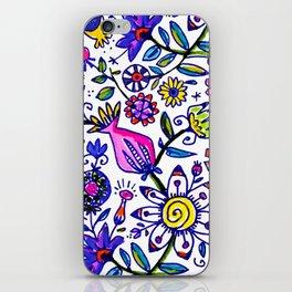springtime flurry iPhone Skin