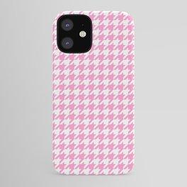 Rose Quartz Houndstooth iPhone Case