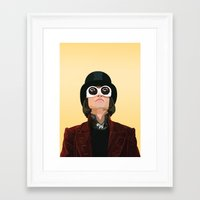 willy wonka Framed Art Prints featuring Willy Wonka by Natalié Art&Living