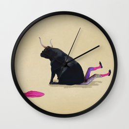 Sitting Bull Wall Clock