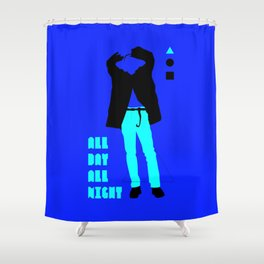 SHINee - All Day All Night Shower Curtain