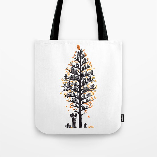 Hoot Lodge Tote Bag