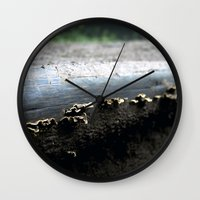 mushrooms Wall Clocks featuring mushrooms by nast