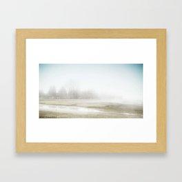 Mysterious Treeline Framed Art Print