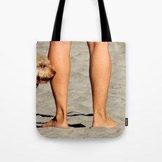 Touching Base Tote Bag