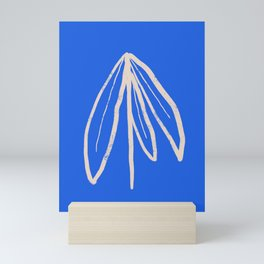 Blue Plant Mini Art Print