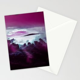 I Want To Believe -Pink Stationery Cards