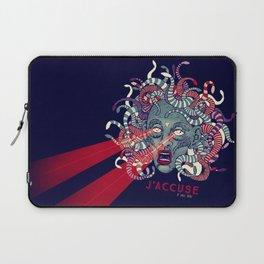 J'accuse Laptop Sleeve