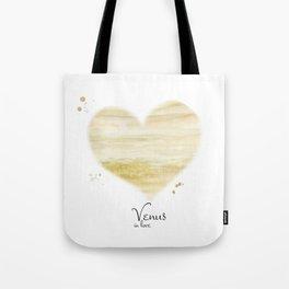 Venus in love Tote Bag