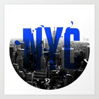 Rep your City: NYC Art Print