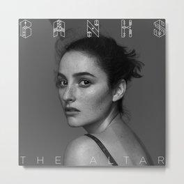 The Altar - BANKS Metal Print