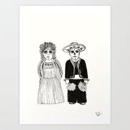Abuelitos Art Print