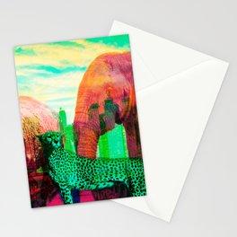 Urban Animals by Naoma Serna Stationery Cards