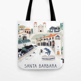 The best of Santa Barbara Tote Bag