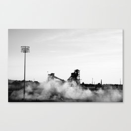Smoky Track Canvas Print