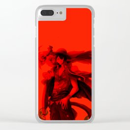 Monkey D. Luffy, Clear iPhone Case