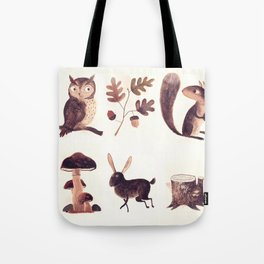 What you might find in the forest Tote Bag