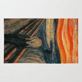 The Scream by Edvard Munch Rug