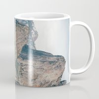 yosemite Mugs featuring Yosemite Waterfall by Laura Ruth