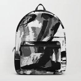 Rock In Black/White Backpack