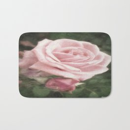 Pink Roses in Anzures 2 Nostalgic Bath Mat