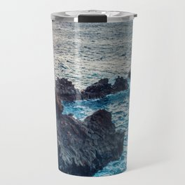 Canary Island Cliffs Travel Mug