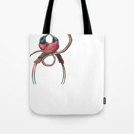 Northern Carmine Bee-eater (Merops nubicus) Tote Bag