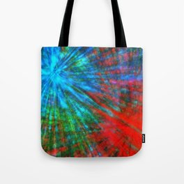 Abstract Big Bangs 001 Tote Bag
