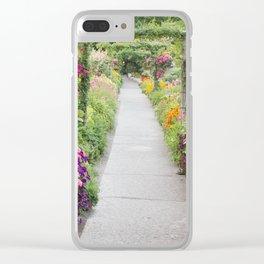 Floral Abundance Clear iPhone Case