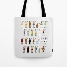 St_ar_Wars Alphabet 2 Tote Bag