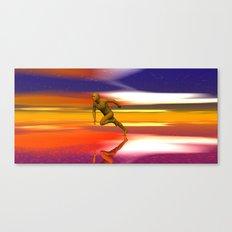 Breaking free. Canvas Print