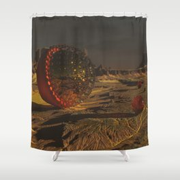 Communication Shower Curtain