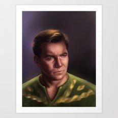 Star Trek: Kirk Art Print