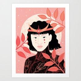 Moon Empress Art Print