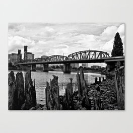 Old And Broken... Canvas Print