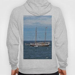 Sailboat and the Gannet Hoody