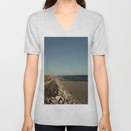 Oceanic landscape: Lacanau  3 Unisex V-Neck