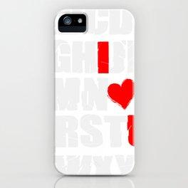 Alphabet Love Valentines iPhone Case