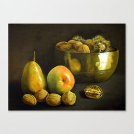 Fruit and Nuts Canvas Print
