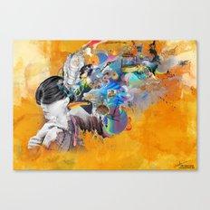 Floating Mind Canvas Print