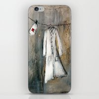 nurse iPhone & iPod Skins featuring nurse by woman