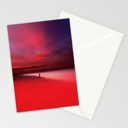 Fisher In Red Stationery Cards
