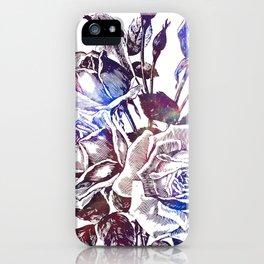 Rose Bloom Nebula iPhone Case