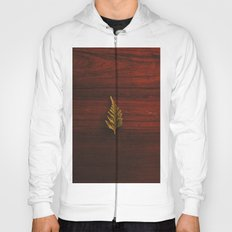 LEAF - WOOD - NATURE - PHOTOGRAPHY Hoody