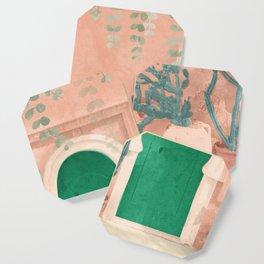 Green Door Coaster