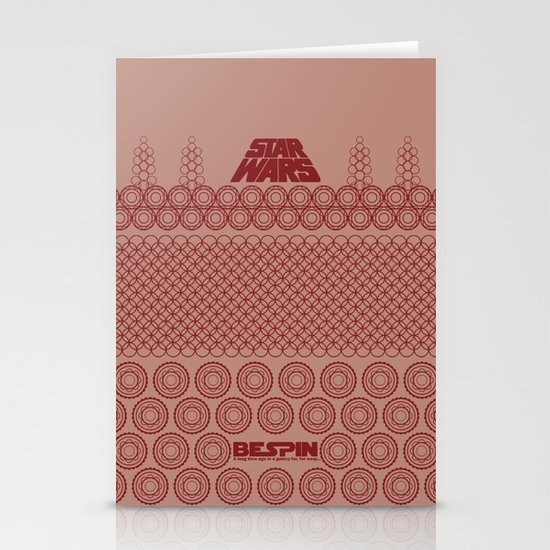 Star Wars- Bespin Stationery Cards