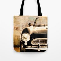 bmw Tote Bags featuring bmw by Fernando Vieira
